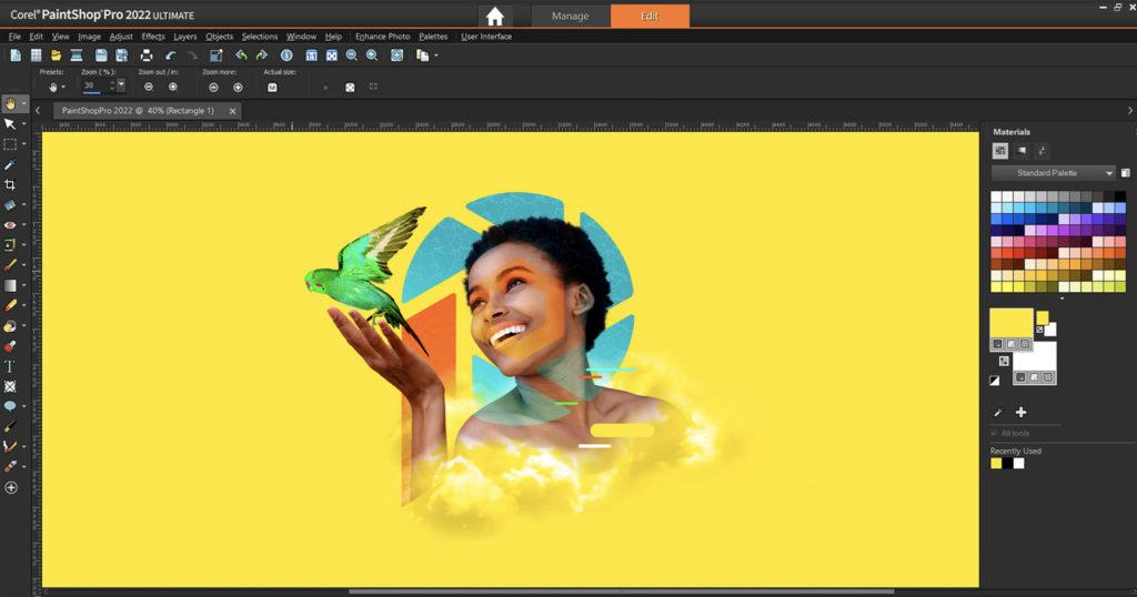 Corel's PaintShop Pro 2022 Comes With New AI Photo Editing Features