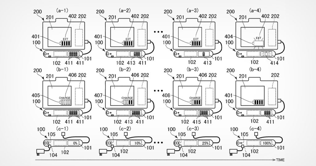 Canon Patents a Battery Indicator That Shows Life of Connected Packs