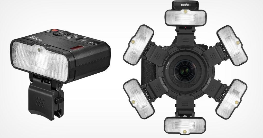New Godox Macro Flash MF12 Can Combine Six Times Around a Lens