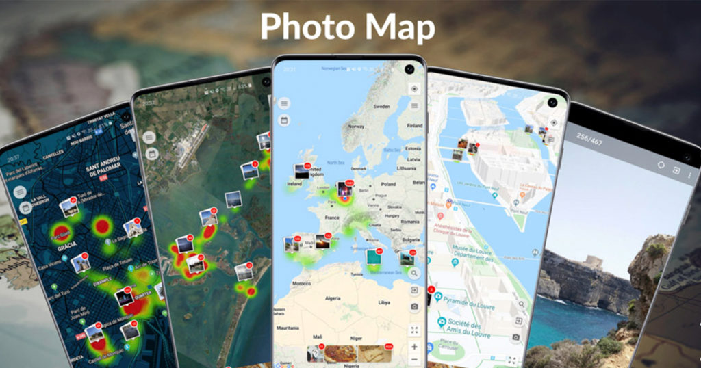 Android App Visualizes On-Device and Cloud-Stored Photos on a Map