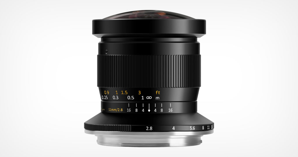 TTArtisan Launches 11mm f/2.8 Fisheye Lens for Fujifilm GFX Mount