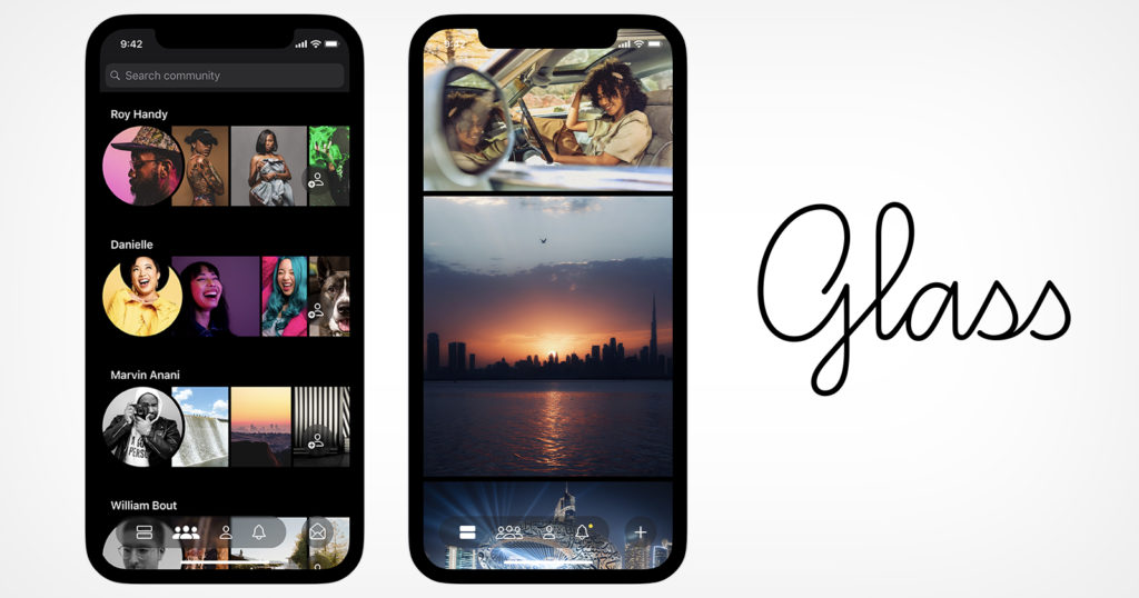 Glass is a Subscription-Based Photo Sharing App for Photographers