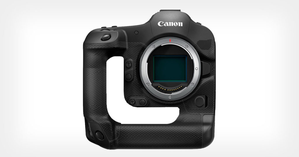 Canon Designed a 'Donut' Mirrorless Camera with a Hole-y Grip