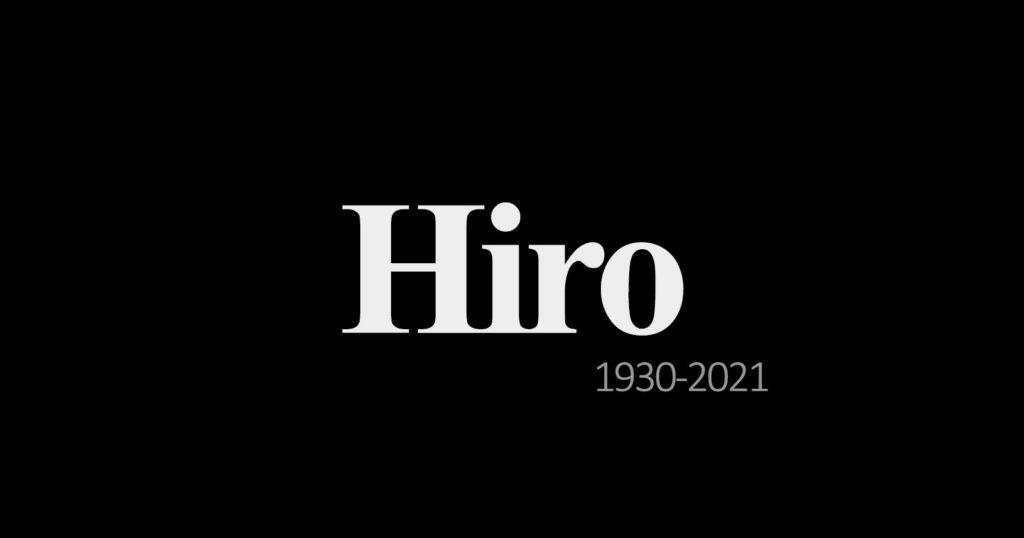 Renowned Fashion Photographer Hiro Passes Away At 90