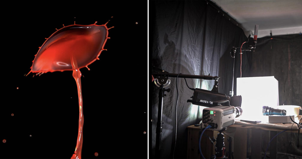 Photographer Shares Tips For Water Droplet Collision Shots