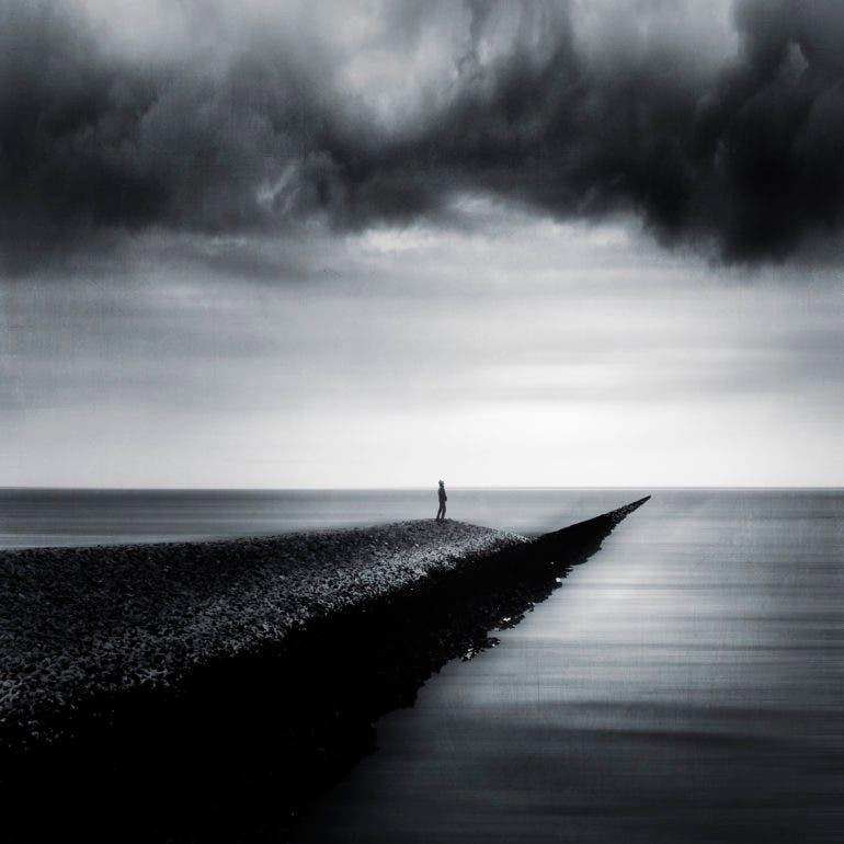 Dirk Wustenhagen Photographs Moments of Solitude in a Blur