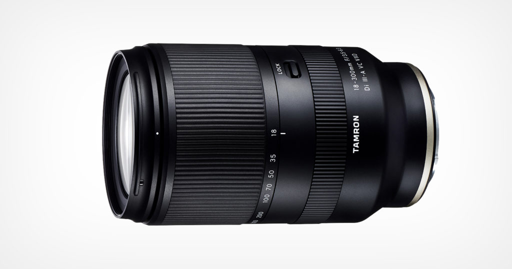 Tamron Launches 18-300mm f/3.5-6.3 for Sony E-Mount APS-C Cameras