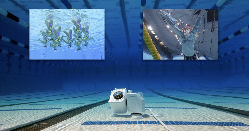This Underwater Robot is Used to Capture Unique Aquatic Sports Photos