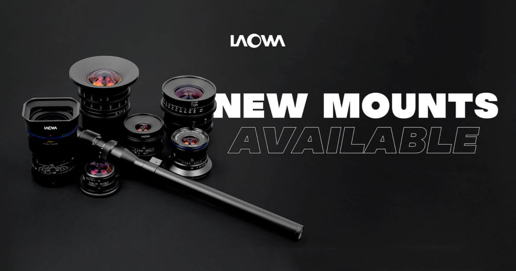 Laowa Adds Four Mirrorless Lens Mounts to Seven Existing Lenses
