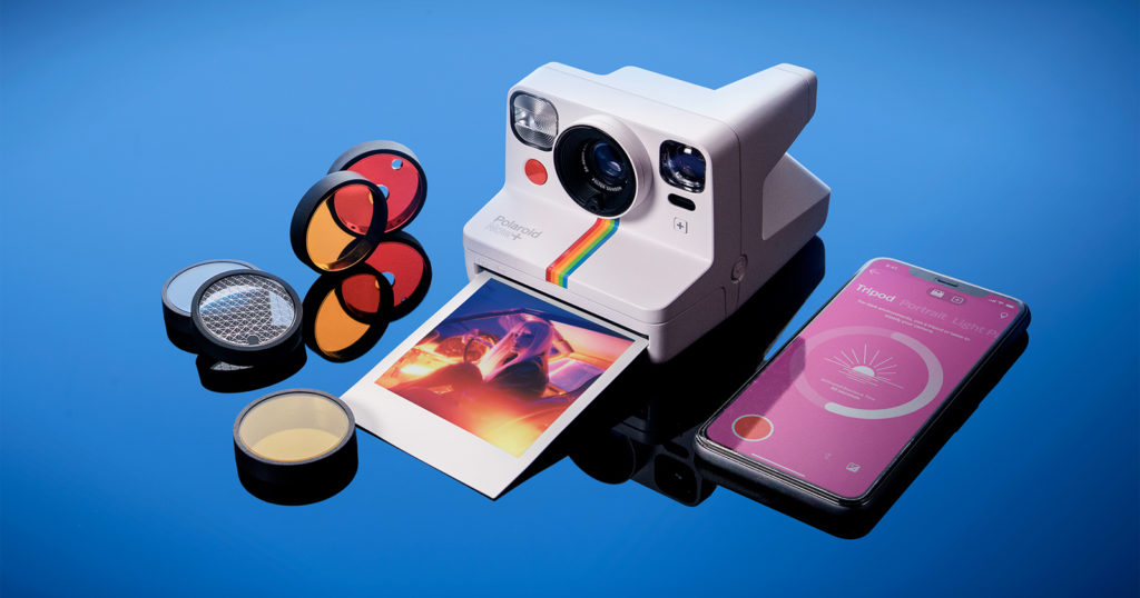 Polaroid Now+ is an Instant Camera That Basically Requires a Smartphone