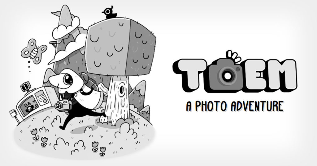 TOEM is a Hand-Drawn Photography Adventure Game