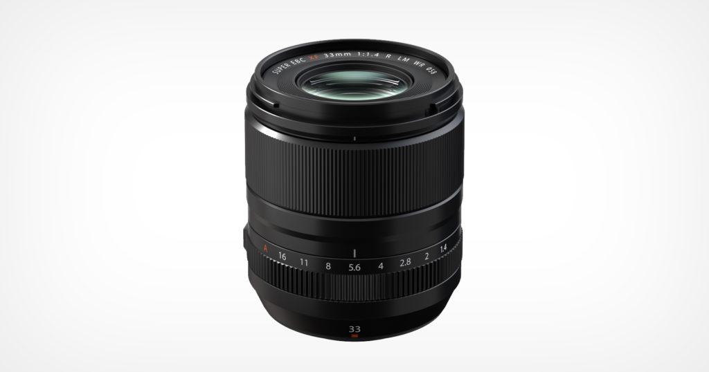 Fujifilm Unveils the XF33mm f/1.4 R LM WR Lens