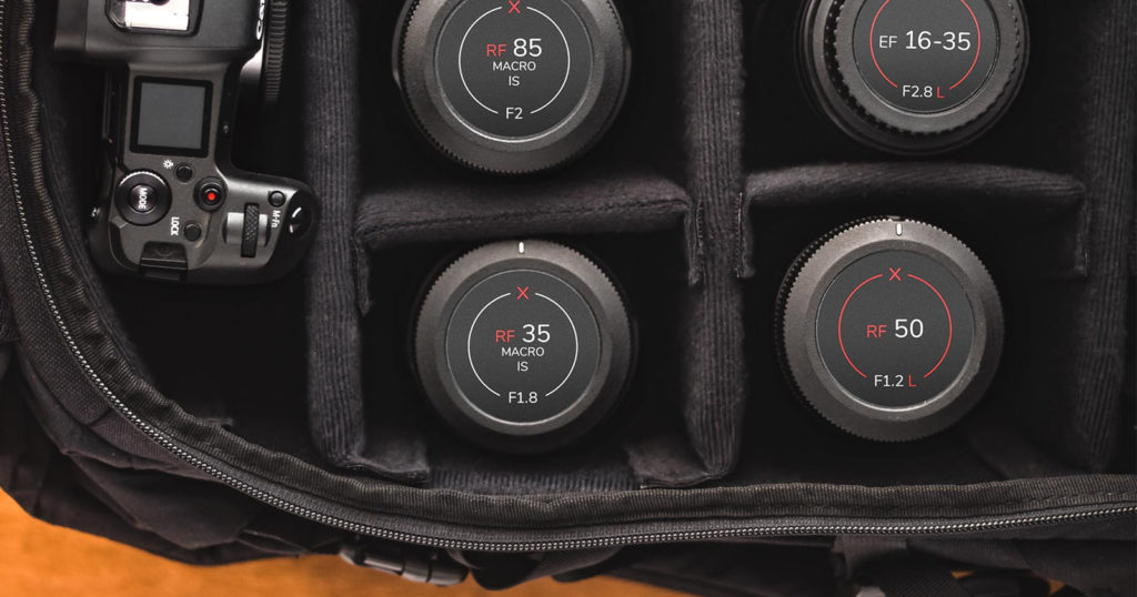 These Easy-to-Read Lens Labels Help You Quickly Identify Gear