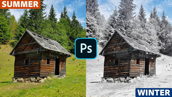 Photoshop Trick: Turn Summer Into Winter in Just 3 Minutes (VIDEO)
