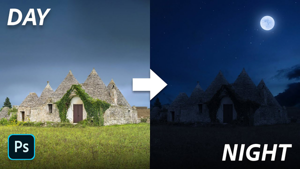 Turn Day Into Night with This Super-Easy Photoshop Trick (VIDEO)