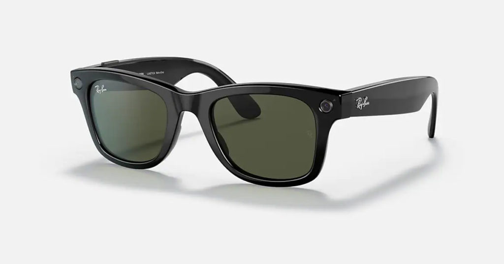 Facebook and Ray-Ban Launch Smart Glasses with 5MP Cameras