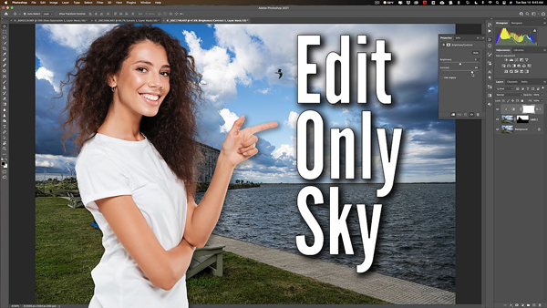 Use a Hidden Photoshop Tool to Enhance a Sky & Leave the Rest of an Image Alone (VIDEO)