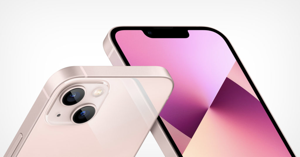 Apple Unveils the iPhone 13 and 13 mini with Enhanced Camera Tech