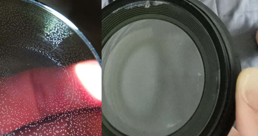 How to Remove Fungus Between Glued Camera Lens Elements