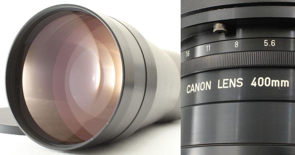 No One Can Seem to Identify This Canon 400mm f/2 Lens