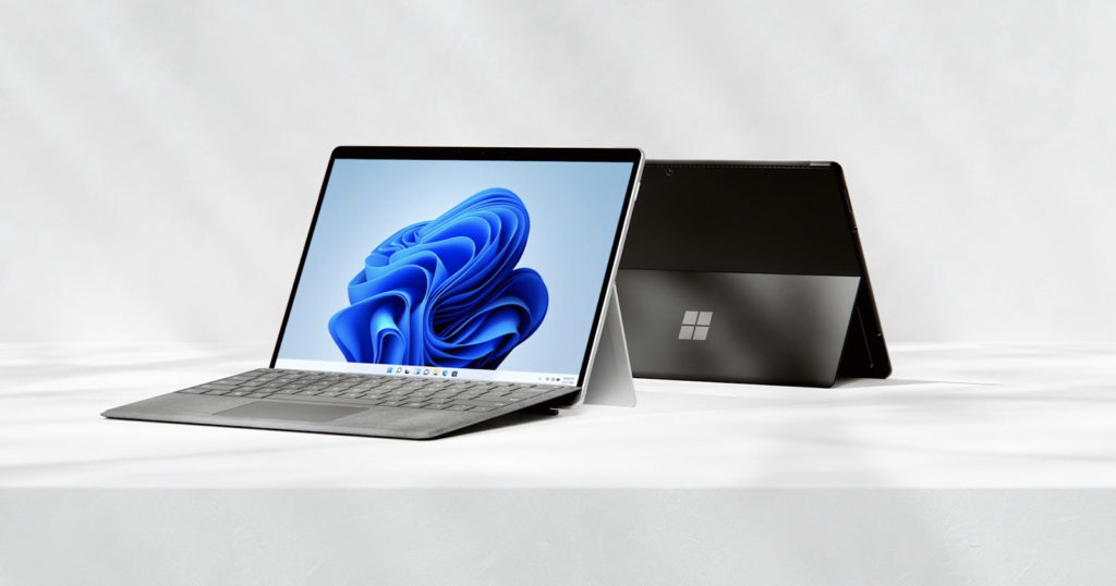 Microsoft Launches the More Powerful Surface Pro 8 Two-in-One