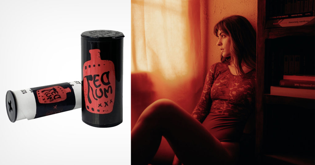 CineStill Unveils 'RedRum' Limited Edition Medium Format Red Scale Film