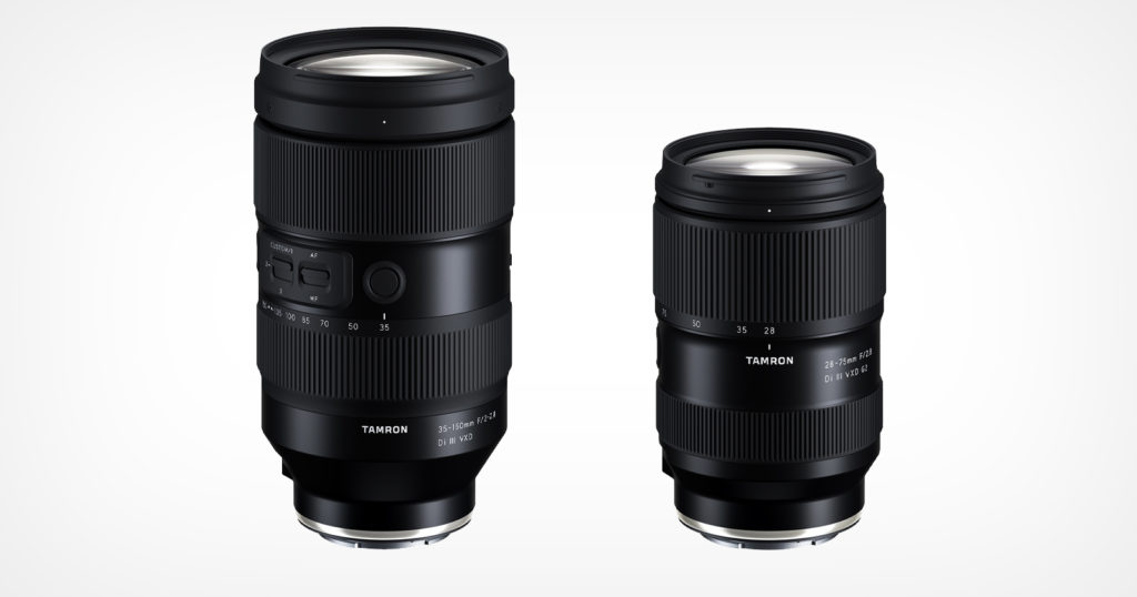 Tamron Reveals Final Details of 35-150mm f/2-2.8 and 28-75mm f/2.8