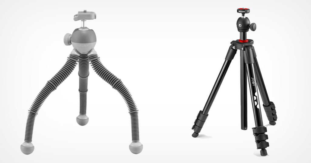 Joby Launches New Flexible Podzilla As Well As 'Normal' Tripods