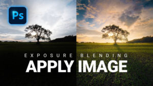 """Use Photoshop's Hidden """"Apply Image"""" Tool for Fast & Easy Exposure Blending (VIDEO)"""